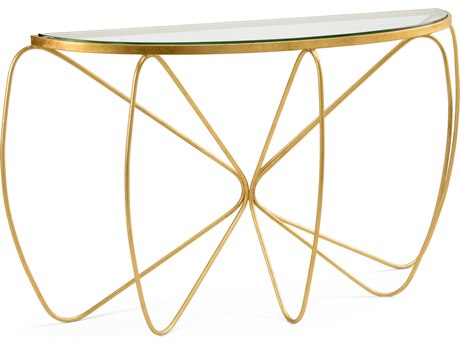 Wildwood Lamps Jennings 58'' Wide Demilune Console Table WL490032