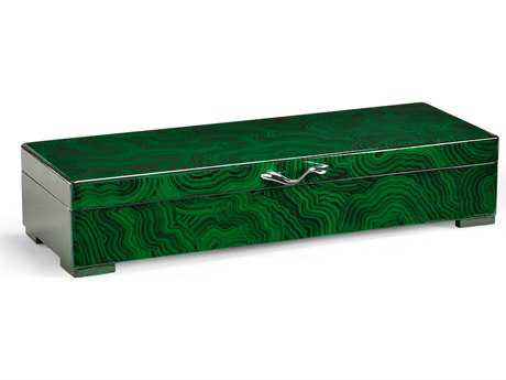 Wildwood Lamps Slender Hinged Lid Jewelry Box WL300584