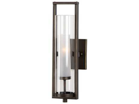 Wildwood Lancaster - Bronze Bronze And Frosted Wall Sconce WL67073