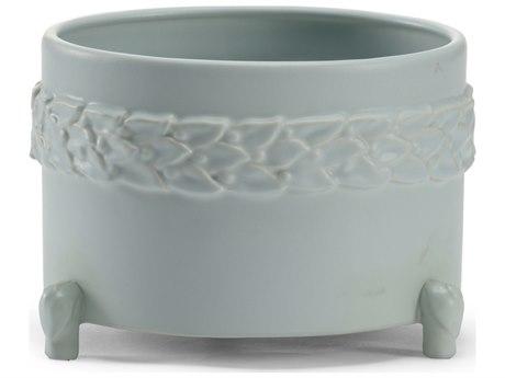 Wildwood Lamps Laurel Small Mint Ceramic Cachepot WL295565