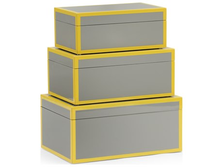 Wildwood Lamps Lexie Flannel Box (Set of 3) WL301326