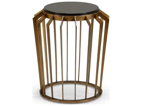 Wildwood Lamps Mason 19'' Wide Round Drum Table