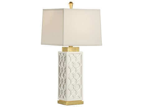 Wildwood Lamps Portico White Buffet Lamp WL23360