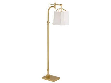 Wildwood Lamps Ritz Antique Brass Floor Lamp WL60674