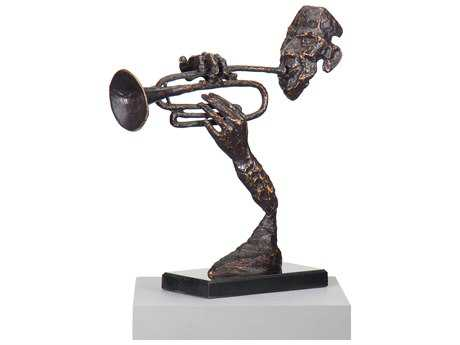 Wildwood Lamps Trumpeter Cast Iron Sculpture WL292312