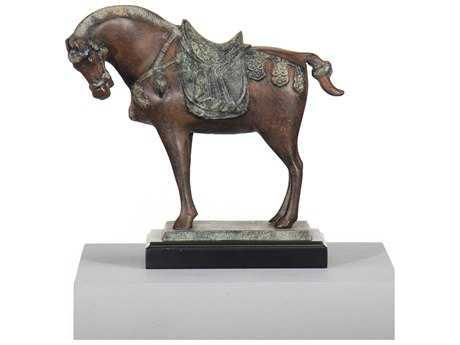 Wildwood Lamps Tang Horse Alloy Casting Sculpture WL300036