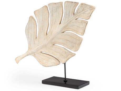 Wildwood Lamps Whitewash / Black Sculpture