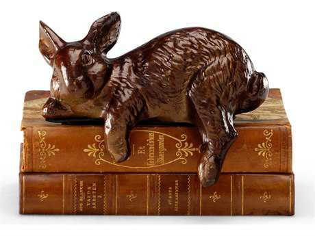 Wildwood Lamps Restin' Rabbit Bronze Patina On Cast Brass Sculpture WL390169