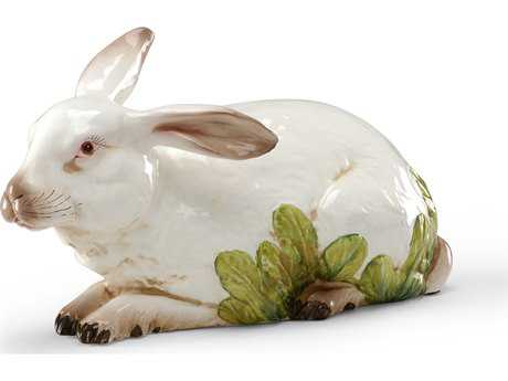 Wildwood Lamps Big Restin' Rabbit Tuscan Ceramic Sculpture WL396476