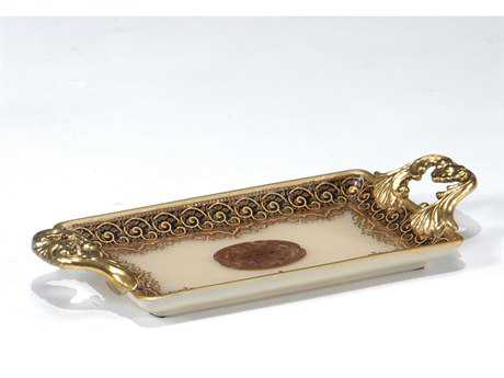Wildwood Lamps Porcelain Serving Tray