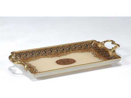 Wildwood Lamps Glass Serving Tray WL300052