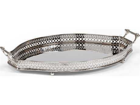 Wildwood Lamps Gallery Polished Nickel Serving Tray WL300681