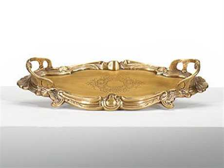Wildwood Lamps Gallery Solid Brass Serving Tray WL391967