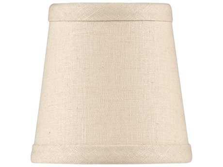 Wildwood Lamps Tan Linen Chandelier WL24005