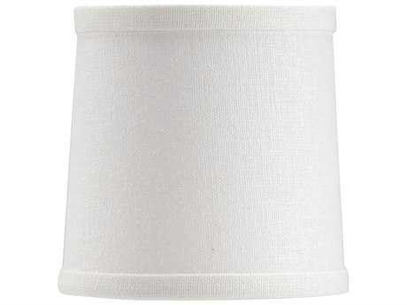 Wildwood Lamps White Linen Chandelier WL24010