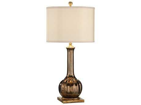 Wildwood Lamps Santa Clara Wedding Metallic Copper Finish Table Lamp WL16102