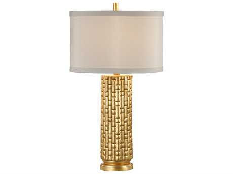 Wildwood Lamps Vivienne Gilt On Fired Ceramic Table Lamp WL26022