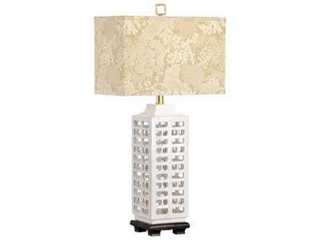 Wildwood Lamps Fired Ceramic Old Black Mounting Khai Table Lamp