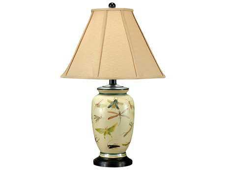 Wildwood Lamps Ebony Porcelain Mounting Bugs Take Over Table Lamp WL46018