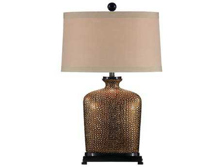 Wildwood Lamps Ceramic Old World Bronze Base Table Lamp WL46636