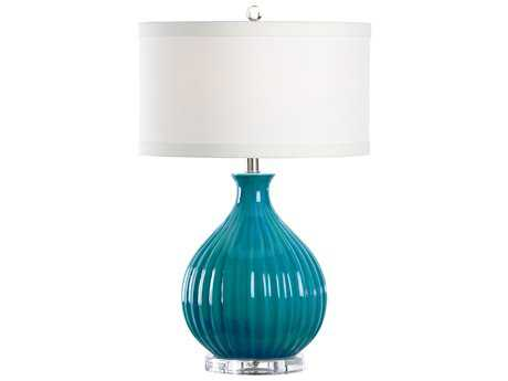 Wildwood Lamps Rosaland Lamp-Turquoise