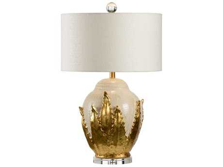 Wildwood Lamps Agave Lamp - With Gold WL60417