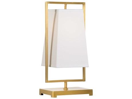 Wildwood Lamps Antique Brass 1-light Table Lamp