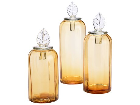 Wildwood Lamps Amber / Clear Urns WL301582