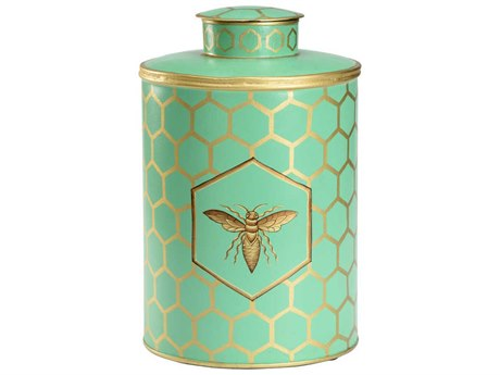 Wildwood Lamps Green / Gold Hand Painted Urns WL301716