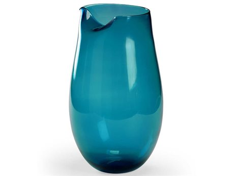 Wildwood Lamps Blue / Clear Vase