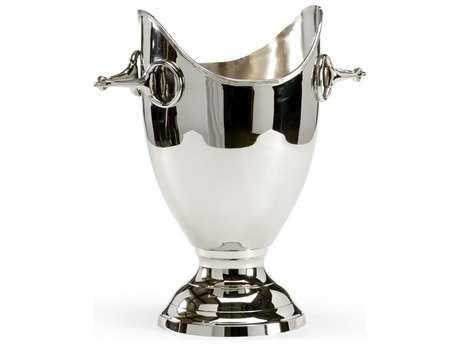 Wildwood Lamps Aluminum Nickel Wine Cooler WL300744