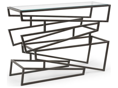 Wildwood Lamps Zigzag 44'' Wide Rectangular Console Table WL490103