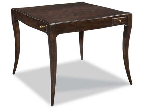 Woodbridge Furniture Addison Ebonized Mahogany Game Table