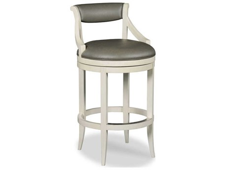 Woodbridge Furniture Carrara Side Swivel Bar Height Stool