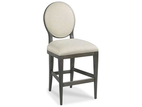 Woodbridge Furniture Charcoal Side Bar Height Stool