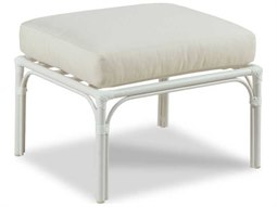 Carlyle Cloud White Ottoman