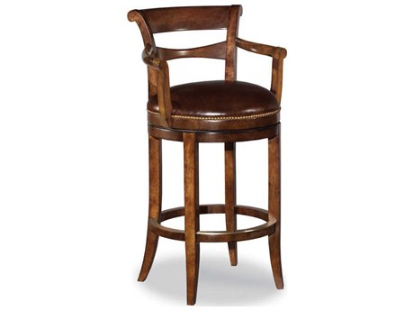 Woodbridge Furniture Santa Fe Arm Swivel Counter Height Stool