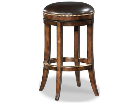 Woodbridge Furniture Santa Fe Side Swivel Counter Height Stool
