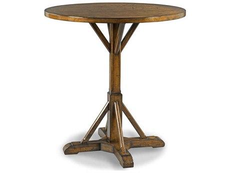 Woodbridge Furniture Craftsman Sonoma 40'' Wide Round Bar Height Dining Table WBF507708