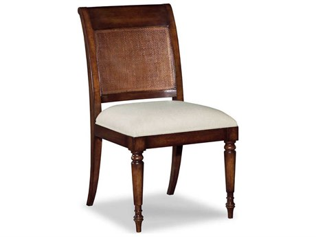 Woodbridge Furniture Aged Mahogany Side Dining Chair