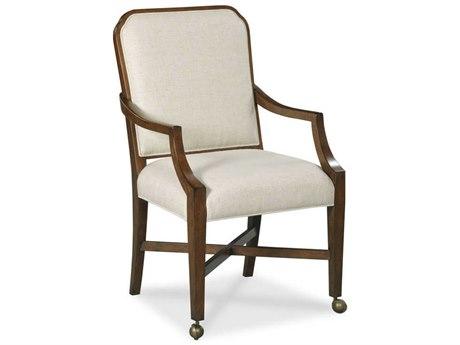 Woodbridge Furniture Bordeaux Arm Rolling Dining Chair WBF731710