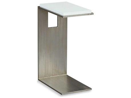 Woodbridge Furniture Alabaster 10'' Wide Rectangular End Table