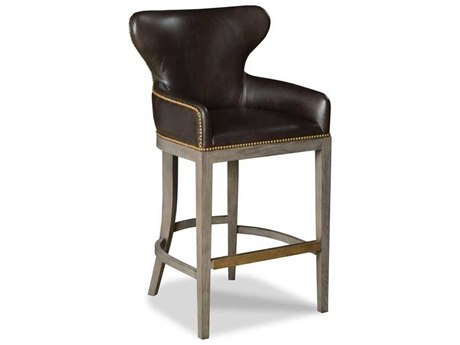 Woodbridge Furniture Hemingway Terra Arm Counter Height Stool