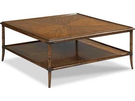 Woodbridge Furniture Linwood Hazelnut 45'' Wide Square Coffee Table