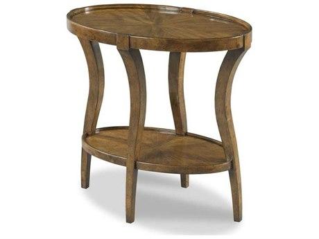 Woodbridge Furniture Linwood Hazelnut 16'' Wide Oval End Table