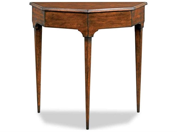 Woodbridge Furniture Mille Bordeaux 32 Wide Demilune Console Table