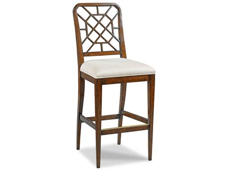 Woodbridge Furniture Merrion Bordeaux Side Bar Height Stool
