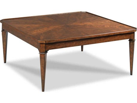 Woodbridge Furniture Provence Bordeaux 42'' Wide Square Coffee Table