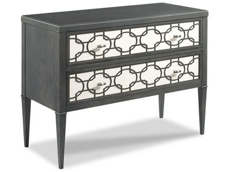 Woodbridge Furniture Royere Charcoal / Pearl White Accent Chest