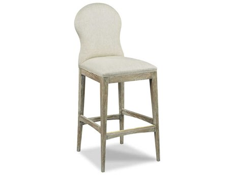 Woodbridge Furniture Ruan Vintage Side Bar Height Stool